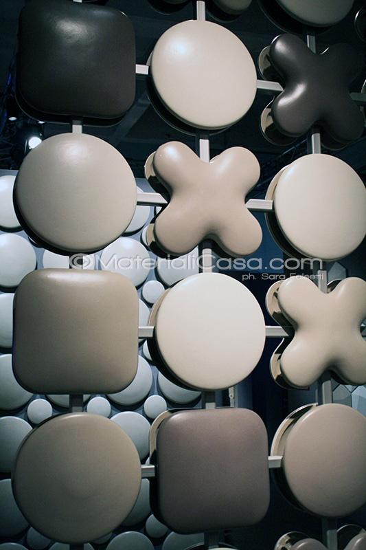 Gres porcellanato ottenuto per colaggio, un nuovo capolavoro per facciate ventilate ed home decor di Tagina. Superstudiopiù, Temporary Museum Of New Design, Zona Tortona - Milano Design Week 2013
