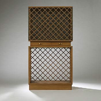 Gio Ponti and Pietro Chiesa, Vitrine for the VII Triennale by Fontana Arte, 1937.