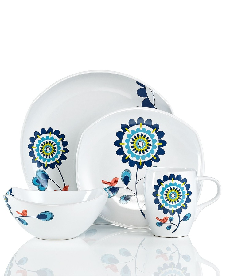 Dansk Dinnerware, Classic Fjord Tweet Collection - Casual Dinnerware - Dining & Entertaining - Macy's