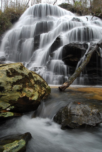 Yellow Branch Falls in Oconee County, SC - photo by Mark VanDyke Photography, via Flickr