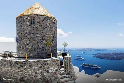 Deliziosa villa in pietra a Santorini per 2 persone