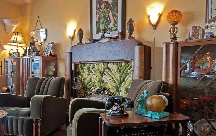 Art Deco Living Room Furniture: 306 Best Images About ART DECO LIVING ROOM On Pinterest