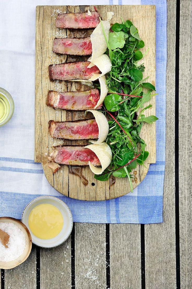 Tagliata van rundsvlees