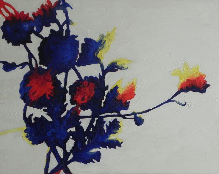 Jaime Cowdry. Oil on canvas 22''x26''. August 2014