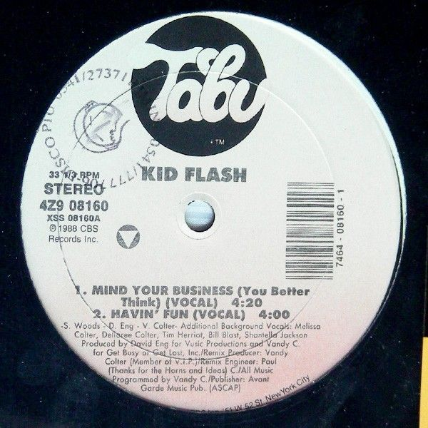 Edizione originale 1988. No ristampa.<br />Ep contenente 3 Tracce<br />Lato A: Mind Your Business (You Better Think) (Vocal) - Havin' Fun (Vocal)<br />Lato B: Ain't Nothin' But A Party (Vocal/Party Instrumental) - Mind Your Business/Havin' Fun Medley (Instrumental)<br />Copertina incellophanata e Vinile nuovo. Mint<br />Stampato in USA.<br /><br />Electronic deep house [24,90 €]