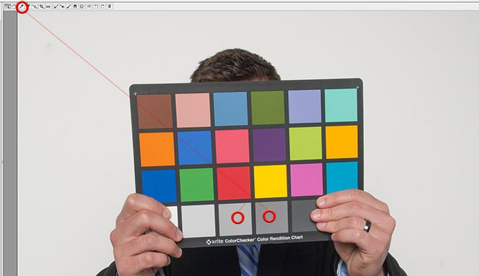 colorcheckerpoint Using A Color Checker Chart