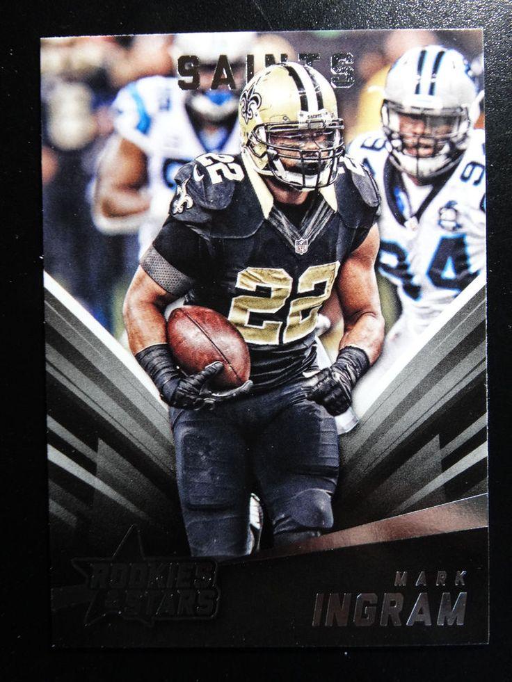 2015 Panini Rookies & Stars #83 Mark Ingram New Orleans Saints Card #NewOrleansSaints