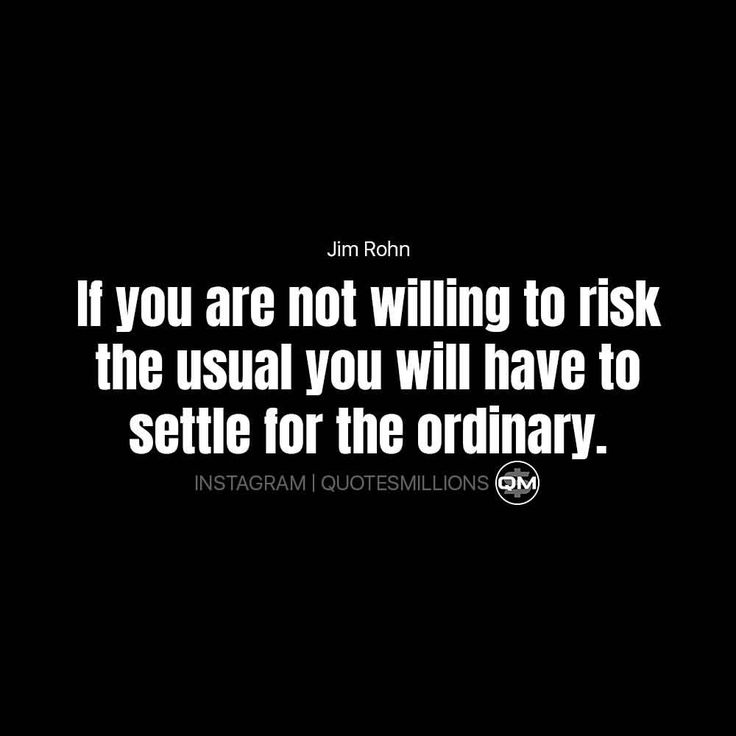 """50 Likes, 1 Comments - Quotes in Millions 💯👉🏻 (@quotesmillions) on Instagram: """"Say """"risk it"""" if you willing to risk it for a not ordinary life. - Do you agree with…"""""""