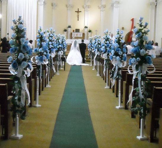 para la decoracion de iglesias para boda se debe tomar en cuenta cada detalle de ese