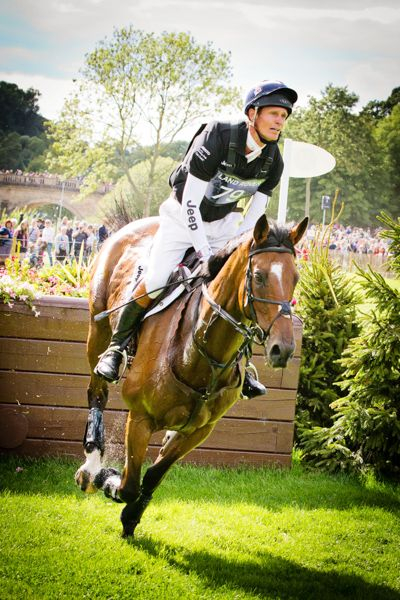 Burghley Horse Trials 2013 - William Fox-Pitt - Helen Griffin Photography