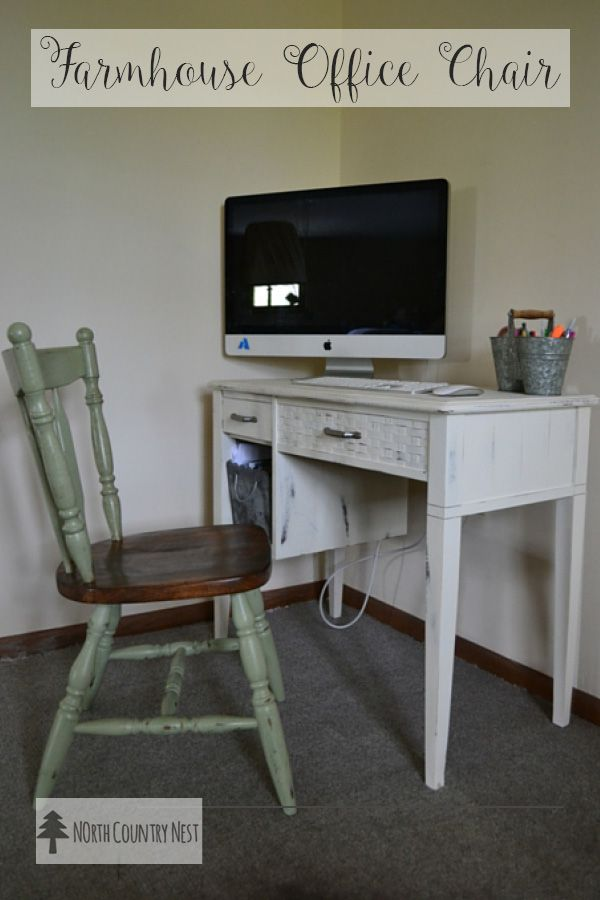 repurposed office furniture. Repurposed Thrift Store Office Chair Furniture