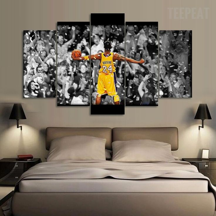 "Kobe Bryant ""Elevate Yourself"" - 5 Piece Canvas Painting-Canvas-TEEPEAT  #prints #printable #painting #empireprints #teepeat"