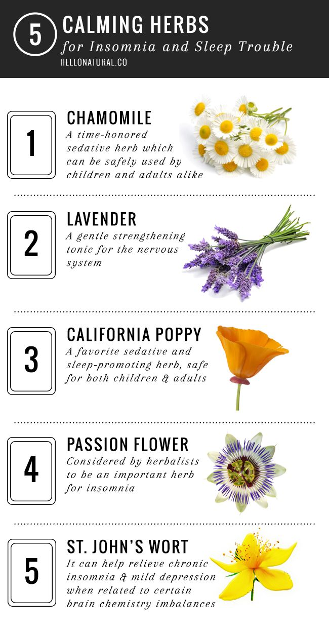 If you're having trouble falling or staying asleep, get some shut-eye with these herbs for insomnia.