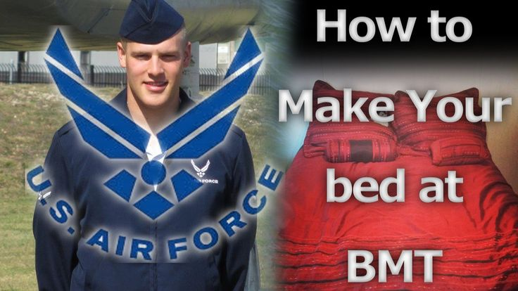 Air Force BMT Tips: How to make your bed
