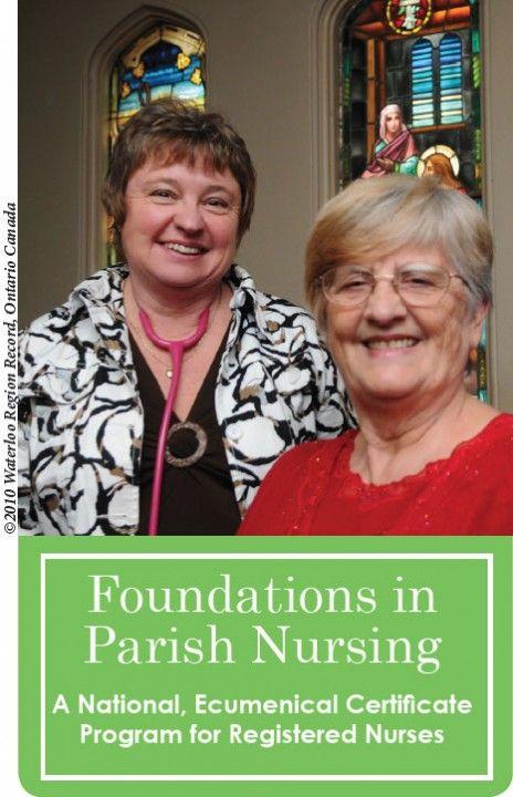 Two Ladies in Foundations in Parish Nursing