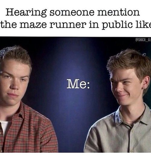 """""""Did someone say...MAZE RUNNER!?!"""" Lol Thomas Brodie-Sangster is so funny! We will miss you Newt!"""