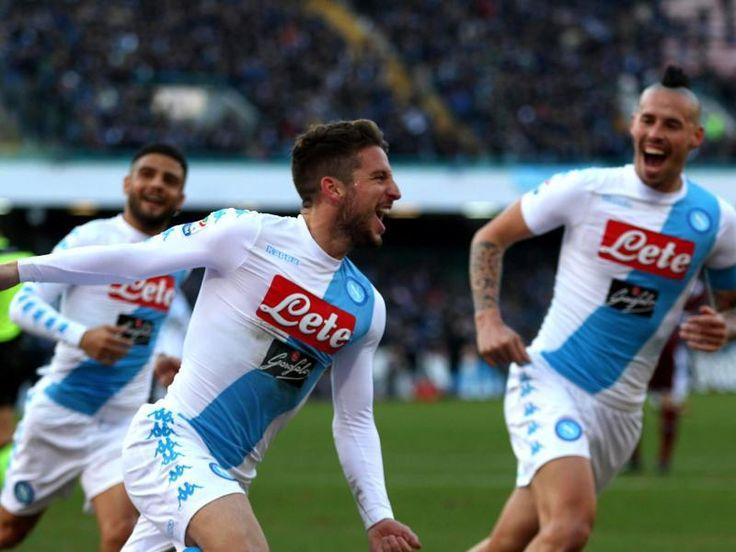 #SZ   #Neapel #feiert 7 1 #Kantersieg #bei Bologna        #Mit #einem spektakulaeren #Kantersieg #hat #der SSC #Neapel #den Rueckstand #auf Tabellenfuehrer #Juventus Turin #in #der italienischen #Serie Avorerst #wieder #auf #drei #Punkte verkuerzt. #Die Napolitaner gewannen #beim #FC Bologna #mit 7:1 (4:1).               http://saar.city/?p=41735