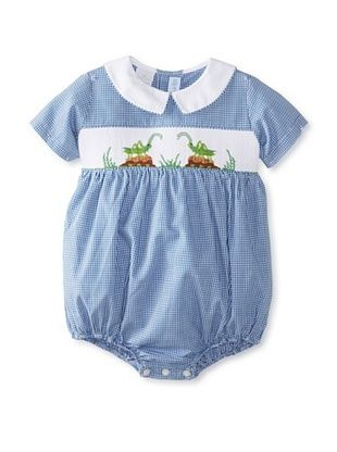 57% OFF Vive La Fete Kid's Cricket Bubble Romper (Blue)