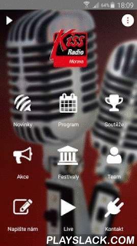 Kiss Morava  Android App - playslack.com ,  Jedinečná možnost live vysílání, novinky, soutěže, chat a mnoho dalších nepostradatelných informací z prostředí rádia Kiss pro váš telefon. Aplikace je vytvořená pomocí služby ADAM - www.ADAMAPP.cz. A unique opportunity to live broadcast, news, games, chat and many other essential information from radio Kiss environment for your phone.The application is created using ADAM - www.ADAMAPP.cz.