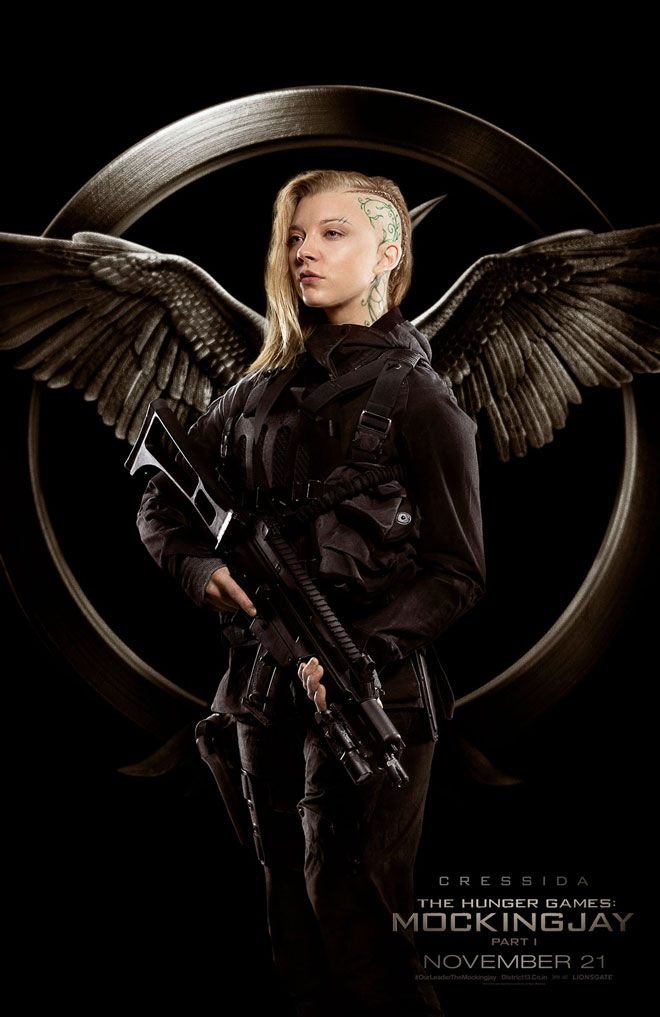 Meet the Rebels in These Awesome New Hunger Games: Mockingjay Posters: Cressida