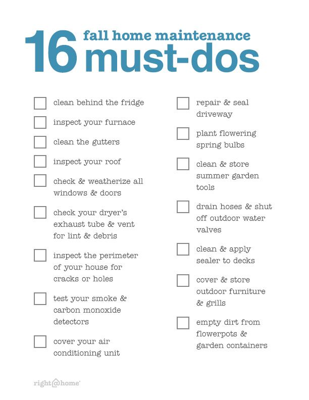 Home Maintenance  Deep Cleaning Checklist for Spring Cleaning