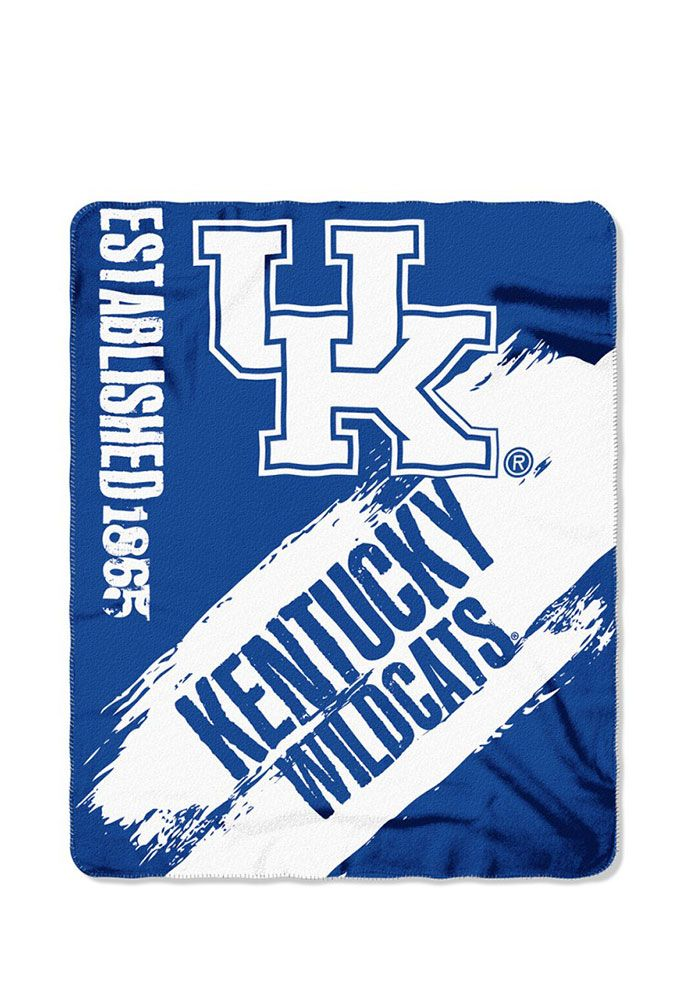 Kentucky Wildcats Painted Fleece Blanket – 5580231