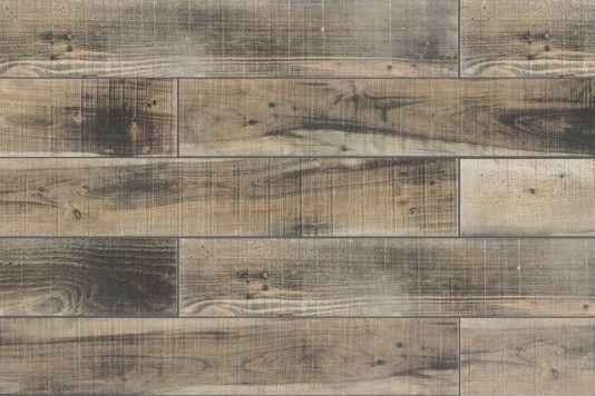 Burnt Wood Effect Wall & Floor Tile 15x90cm - Tons of Tiles