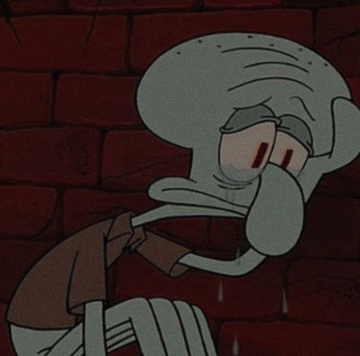 Картинки грустные мультик