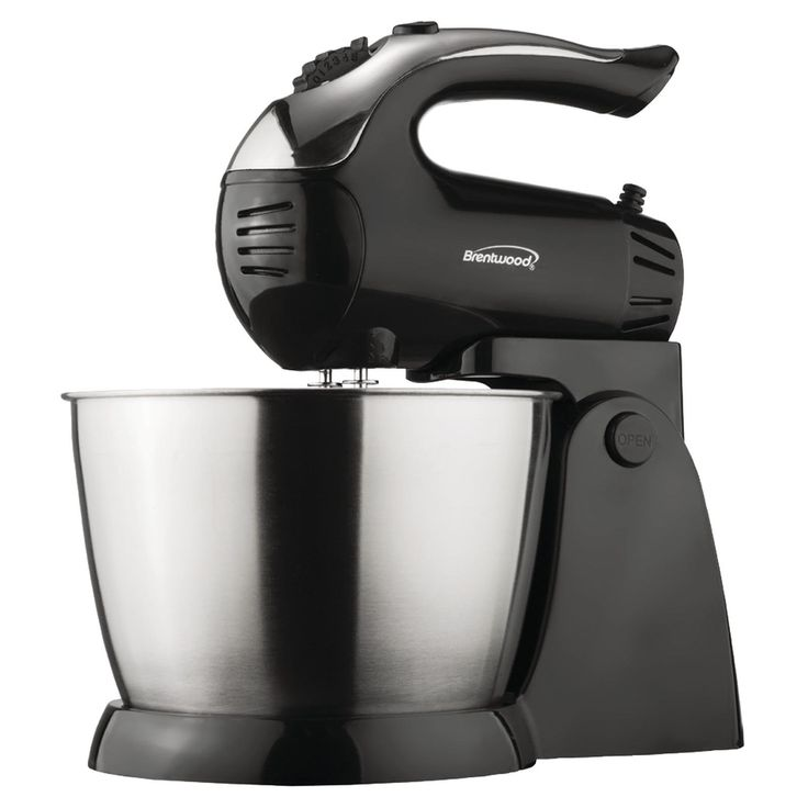 Brentwood 5speed stand mixer with bowl black mixer