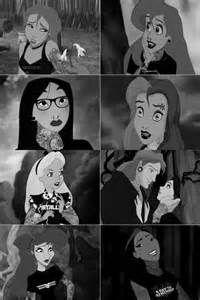 Emo Disney Princesses - Bing Images
