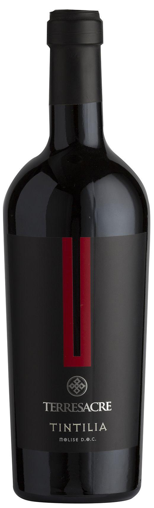 Tintilia - Terresacre #winelabel #winedesign #italianwine #Francescon #Collodi #francesconcollodi