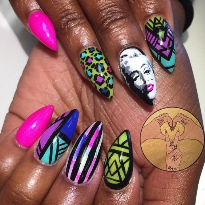 90 best nail art images on pinterest nail arts guys and nail girls nails hand painted nail art tutorials accessories marilyn monroe gallery beauty nails black girls nail designs prinsesfo Images