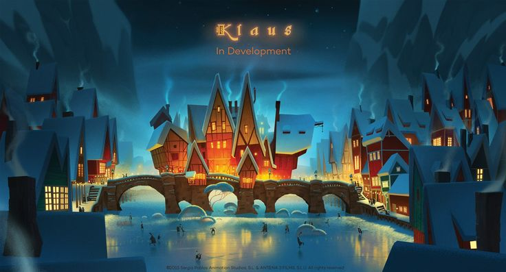 Check Out This Beautiful First Look at this animated feature film, 'Klaus'!