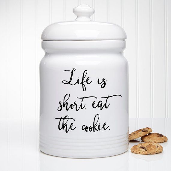 Expressions Personalized Cookie Jar