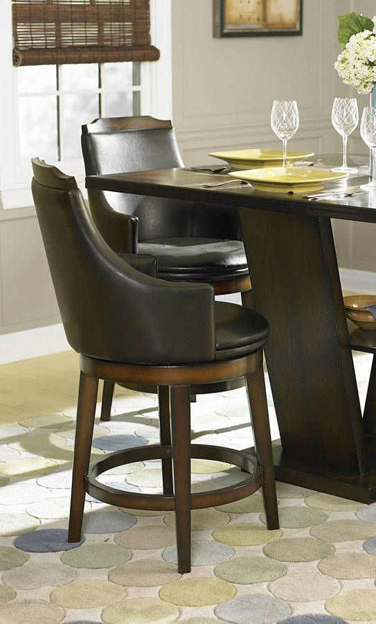 2 Bayshore Oak Wood Upholstered Fabric Swivel Counter Height ChairsBest 25  Counter height chairs ideas on Pinterest   Chairs for  . Fabric Covered Counter Height Chairs. Home Design Ideas