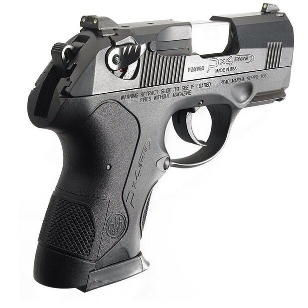 This handgun wraps up the palm so nicely.  The fit is comfortable and secure.  #PX4 #Beretta #FFL #transfer