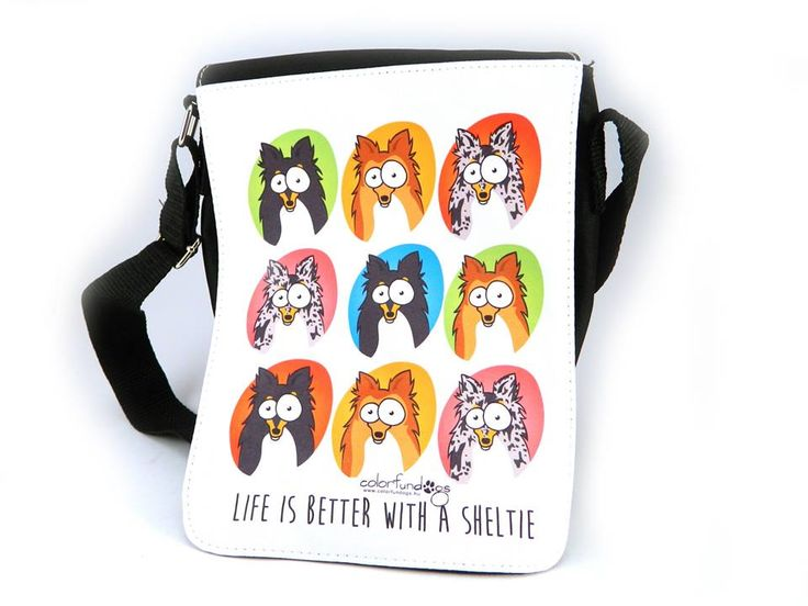 Sheltie bag / Sheltie táska Life is better with a sheltie