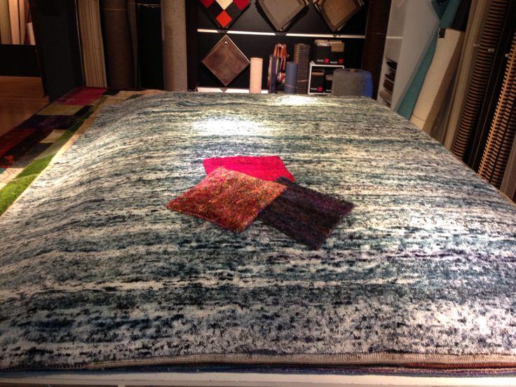 Pure Recycled Silk. 3.000 kilogram pr sqr.mtr.