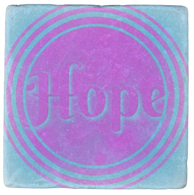 I wanted to present Hope in modern colours rather than the usual traditional colours. I made it as a coaster but now that I see it, I think it might be a rather delightful and up-lifting piece of home decor. A good gift to have up your sleeve.