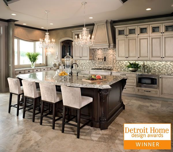 Kitchen Design Michigan Grey Cabinets Dark Island Tutto Interior Design Project