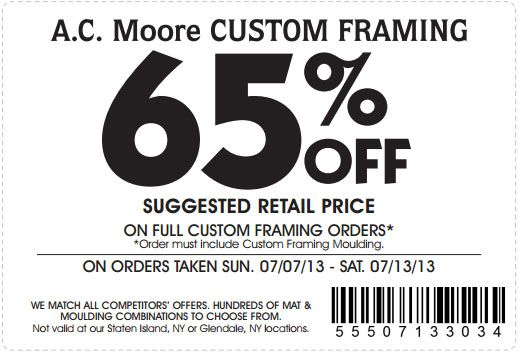 picture about Ac Moore Coupon Printable called Ac moore printable coupon april 2018 : Huge eagle coupon