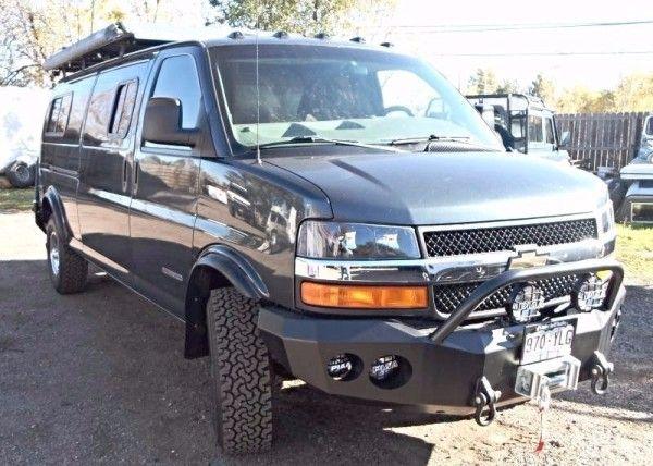 Chevy Express 3 Lift Kit Gmc Trucks Chevy Express 4x4 Van