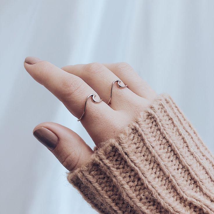 Waves Delicate Ring Roségold – #Waves #WavesRing #Zart # Süss #Rosegold #Ro … – Diamant