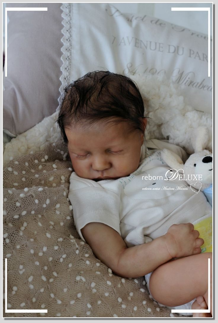 New *Levi by Bonnie Brown www.reborn-deluxe.com #biracial #newborn #baby #doll #sosweet #puppe #sammler #kunst #art #artwork #dollcollectors #andreaheeren #reborndeluxe