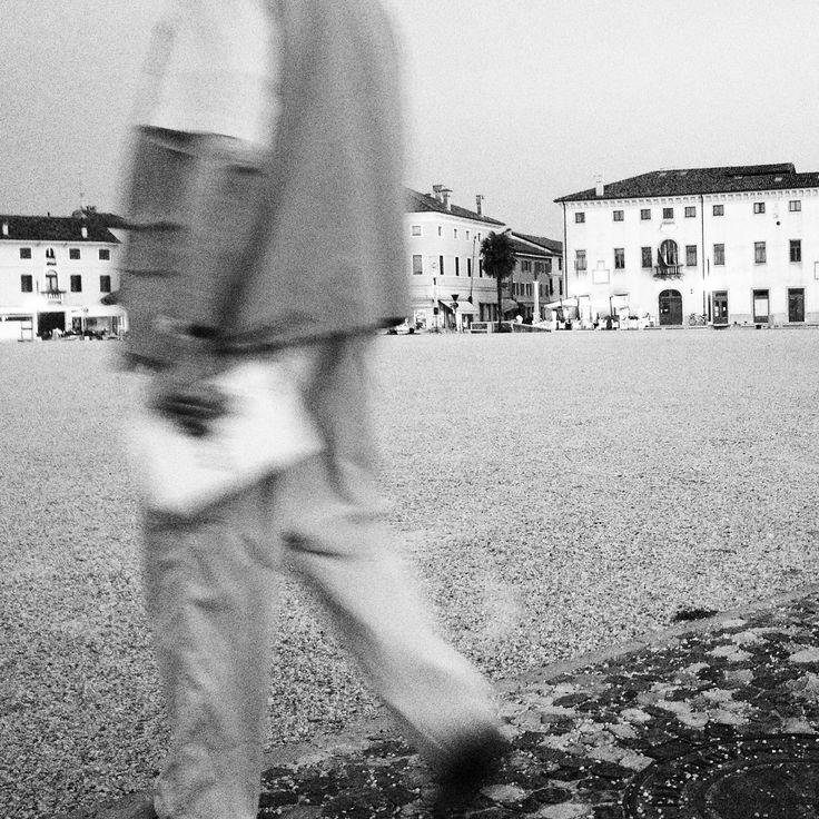 Palmanova,Italy. 9 PM. Old man Made by Anna A.