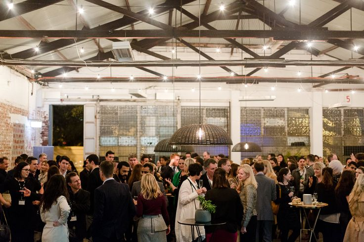 DY.o events (aka. Duo)   Corporate event. Industrial warehouse space. Crowds enjoying the night.