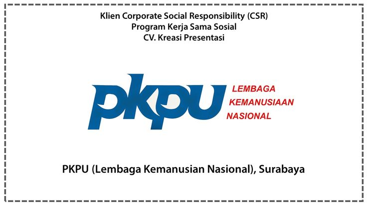 CSR PKPU (Lembaga Kemanusian Nasional), Surabaya