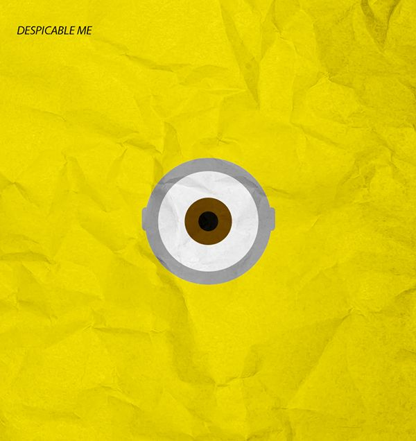 Despicable me minimal poster