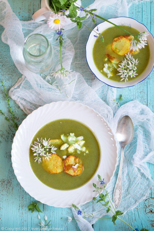 Zupa krem ziemniaczano-szczawiowa, creamy sorrel soup #zupa #soup #szczaw #sorrel
