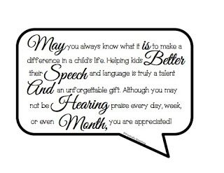 Better Hearing and Speech Month Label FREEBIE from Practically Speeching. Pinned by SOS Inc. Resources pinterest.com/sostherapy/